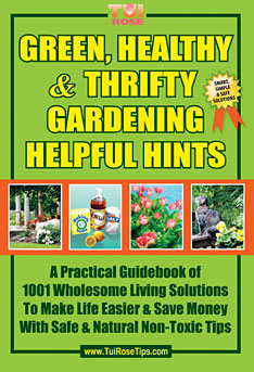 green, healthy, thrifty, gardening, helpful, hints book